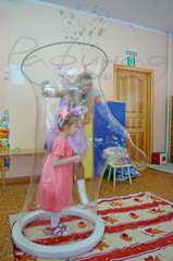 Хабаровск шоу мыльных пузырей от 2500 рублей.
