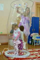 Шоу мыльных пузырей в Хабаровске