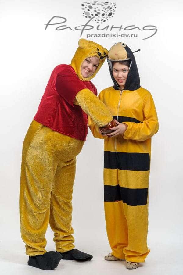 Пчеленок - костюмированный аниматор от агентсва Рафинад