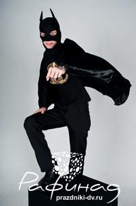 Бэтман - детский аниматор на день рождения Хабаровск от 900 рублей