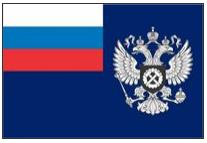 Официальный флаг и геральдический знак социальных работников РФ.