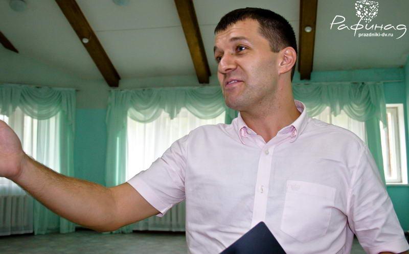 Молодой ведущий Денис Фроленко Хабаровск