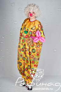 Заказать клоуна в Хабаровске от 900 рублей.