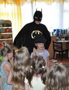 Аниматор Бетман - праздник в детском саду Хабаровск от 900 рублей