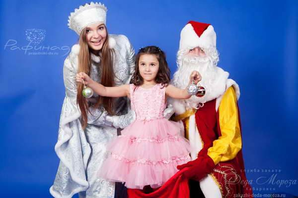 Дед мороз в Хабаровске