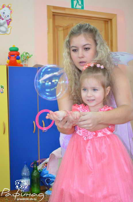 Шоу мыльные пузыри Хабаровск от 2500 рублей